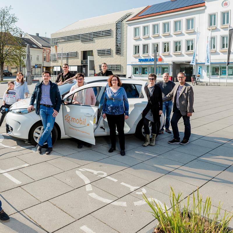 Christoph Artner unterstützt klimafitte Mobilität